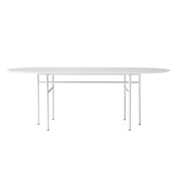 Table SNAREGADE Ovale MENU