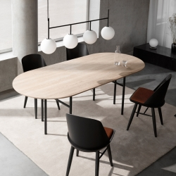 Table Menu SNAREGADE Ovale
