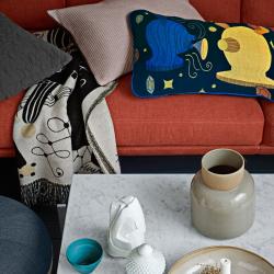 Canapé Fritz hansen LUNE 3 places