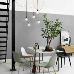 Suspension Muuto E27 Rosace multiple
