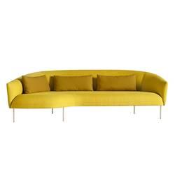 Canapé ROMA avec chaise-longue TACCHINI
