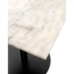 Table Menu HARBOUR COLUMN 60x70 marbre