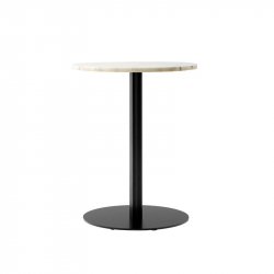 Table Menu HARBOUR COLUMN ronde marbre