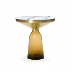 Table d'appoint guéridon BELL SIDE Marbre CLASSICON