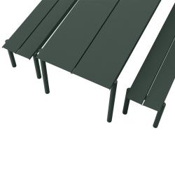 Table et table basse extérieur Muuto LINEAR STEEL