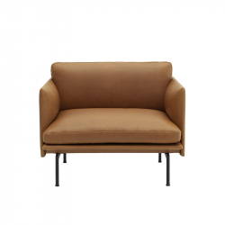 Fauteuil OUTLINE Cuir MUUTO