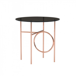 Table d'appoint guéridon RING MINOTTI