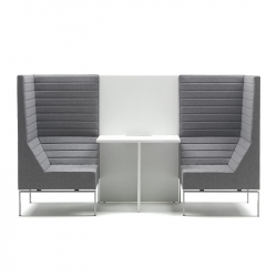 Fauteuil lounge STRIPES composition H MARELLI