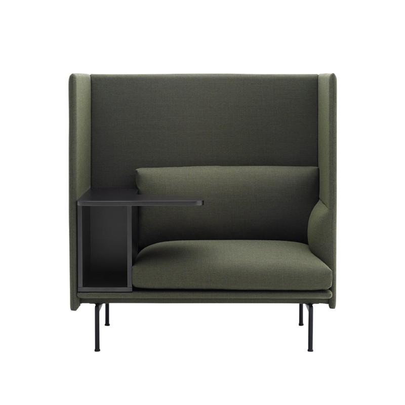 Fauteuil Muuto OUTLINE HIGHBACK WORK