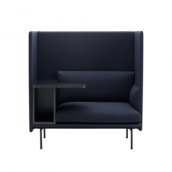 Fauteuil OUTLINE HIGHBACK WORK MUUTO