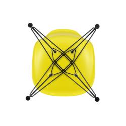 Chaise Vitra EAMES PLASTIC CHAIR DSR Pieds Tour Eiffel
