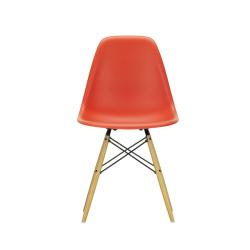 Chaise EAMES PLASTIC CHAIR DSW érable nuance de jaune VITRA