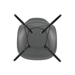 Chaise Vitra EAMES PLASTIC CHAIR DSW érable noir