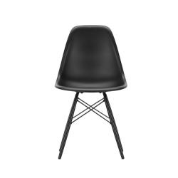 Chaise EAMES PLASTIC CHAIR DSW érable noir VITRA