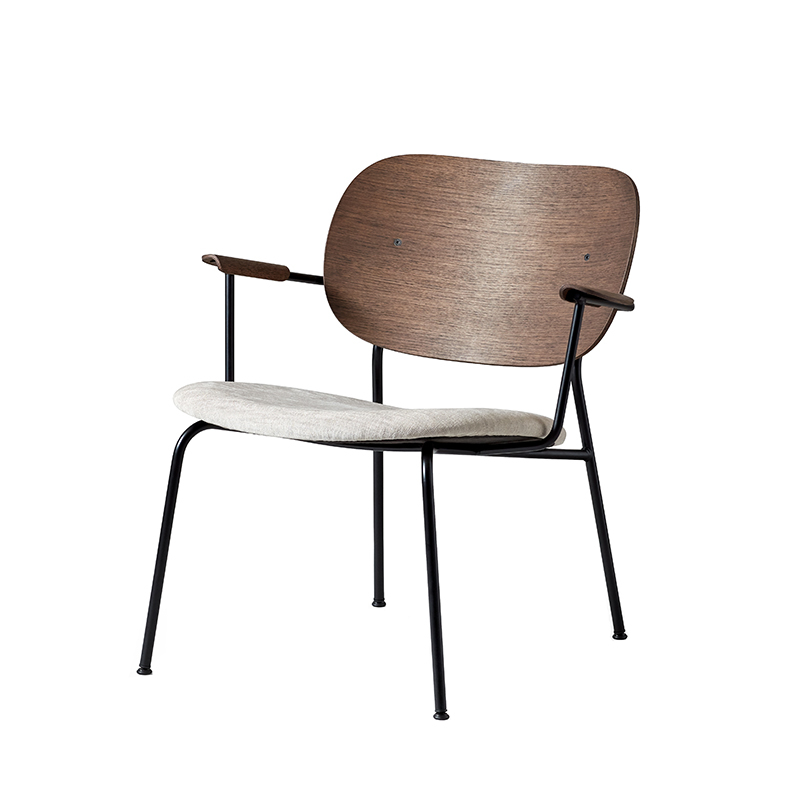 Fauteuil Menu CO LOUNGE CHAIR assise tissu
