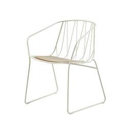 Chaise et petit fauteuil extérieur CHEE ARMCHAIR SP01
