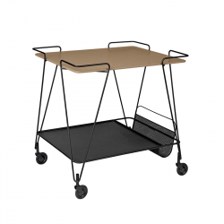 Table roulante MATEGOT TROLLEY GUBI