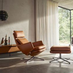 Fauteuil Vitra GRAND RELAX & OTTOMAN