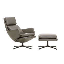 Fauteuil GRAND RELAX & OTTOMAN VITRA