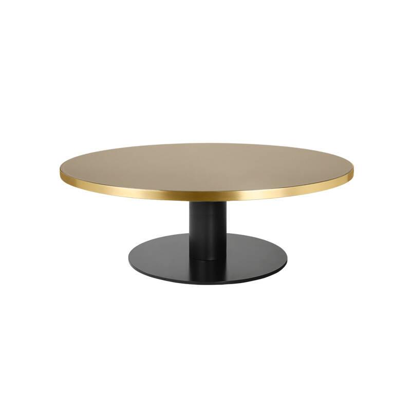 Table basse Gubi 2.0 COFFEE verre