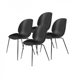 Chaise Gubi BEETLE Set de 4