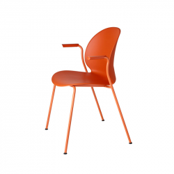 Chaise N02  RECYCLE avec accoudoirs FRITZ HANSEN