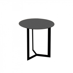 Table d'appoint guéridon KABI H 50 TREKU