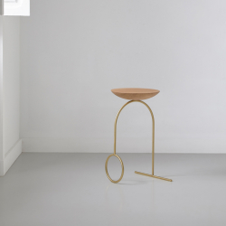 Table d'appoint guéridon Viccarbe GIRO