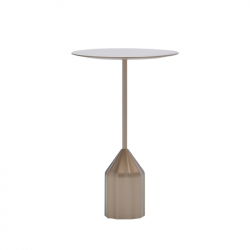 Table d'appoint guéridon BURIN MINI VICCARBE