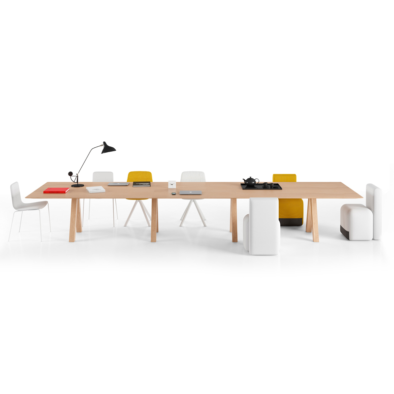 Table Viccarbe TRESTLE TRIPLE