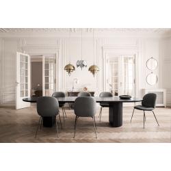Table Gubi MOON DINING ELLIPTICAL