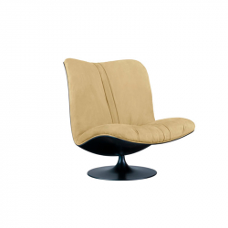 Fauteuil MARILYN dossier haut BAXTER MADE IN ITALY