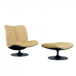 Fauteuil Baxter made in italy MARILYN dossier haut