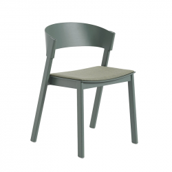 Chaise COVER SIDE CHAIR assise tissu MUUTO