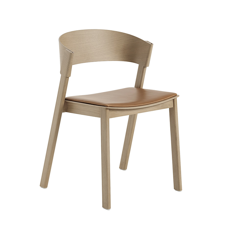 Chaise Muuto COVER SIDE CHAIR assise cuir