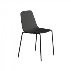 Chaise MAARTEN PLASTIC 4 pieds VICCARBE