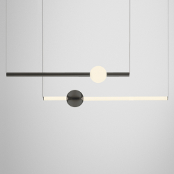Suspension Lee broom ORION GLOBE LIGHT
