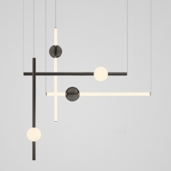 Suspension Lee broom ORION TUBE LIGHT