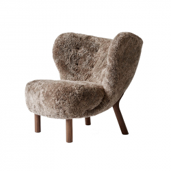 Fauteuil LITTLE PETRA VB1 Sheepskin AND TRADITION