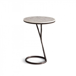 Table d'appoint guéridon ILDA POLIFORM