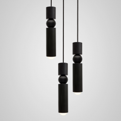 Suspension Lee broom FULCRUM CHANDELIER 3 PIECES