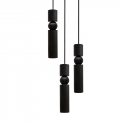 Suspension FULCRUM CHANDELIER 3 PIECES LEE BROOM