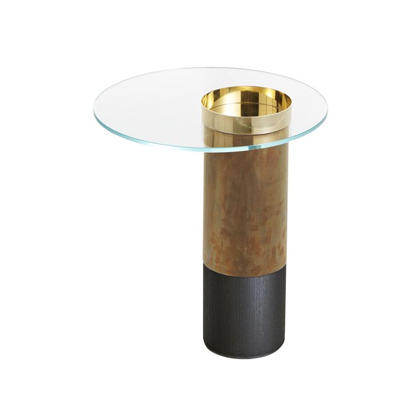 Table d'appoint guéridon Gallotti & radice HAUMEA S
