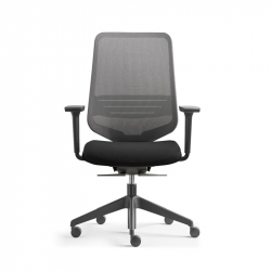 Fauteuil de bureau DOT.HOME BLACK EDITION SILVERA PRO