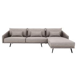 Canapé COSTURA avec chaise Longue STUA