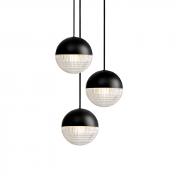 Suspension LITTLE LENS FLAIR CHANDELIER LEE BROOM