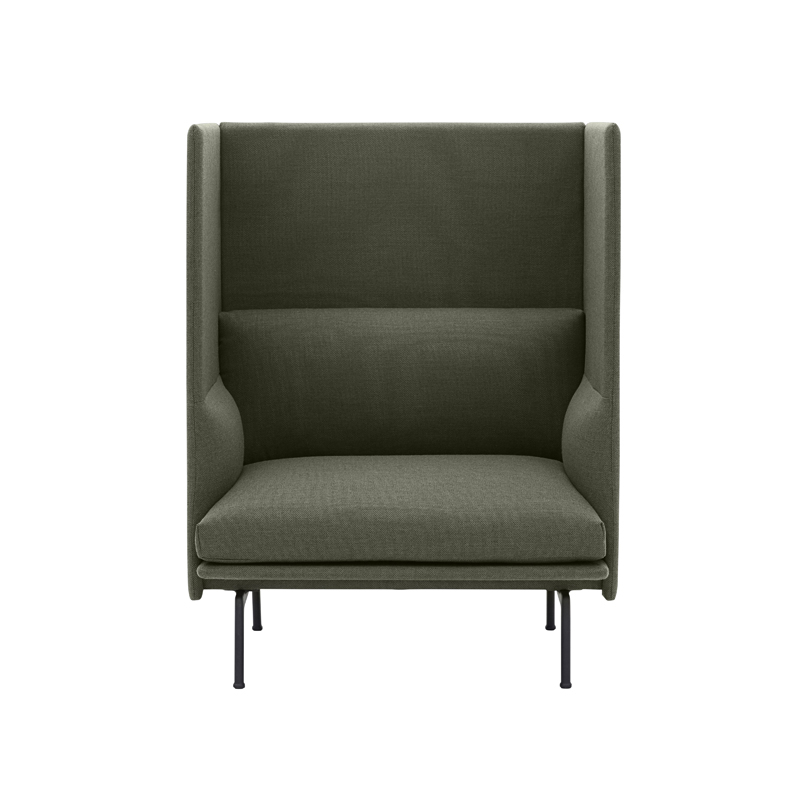 Fauteuil Muuto OUTLINE HIGHBACK 1 place