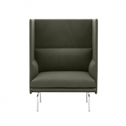 Fauteuil OUTLINE HIGHBACK 1 place MUUTO