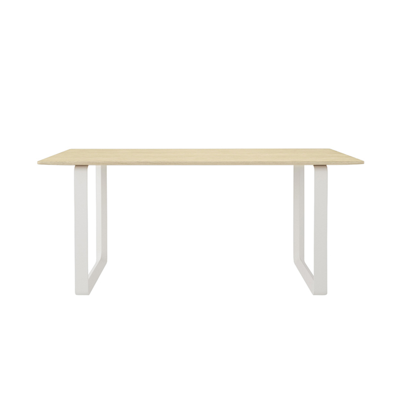 Table Muuto 70/70 Chêne massif