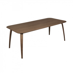 Table GUBI DINING RECTANGULAR Noyer GUBI